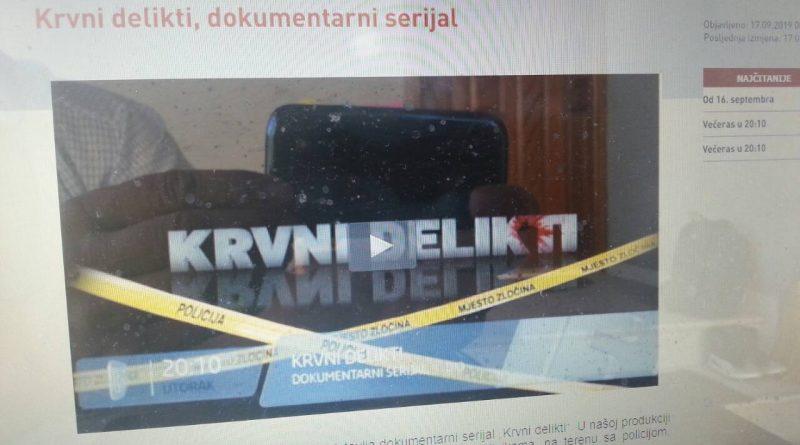 FTV, KRVNI DELIKTI  Ubistvo za 150.000 eura, 24.septembar, četvrtak