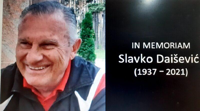 ODLASCI Preminuo nekadašnji sanski  pedagog, urednik Radio Sane i Radio Kraljeva Slavoljub Daišević